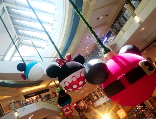 A Turma do Mickey no natal do Shopping VillaLobos